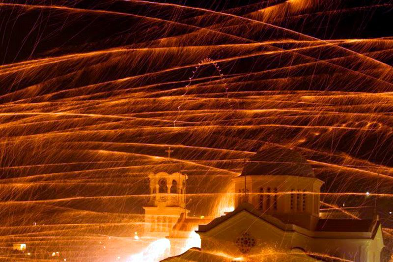 BRONTADOS Παναγίας Ερειθιανής kia  Αγίου Μάρκου vrontados xios