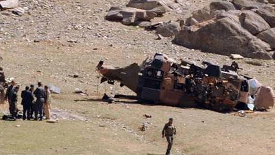 Νεκροί Τούρκοι στρατιώτες από πτώση ελικοπτέρου