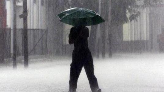 Ισχυρές βροχοπτώσεις σε όλη τη χώρα