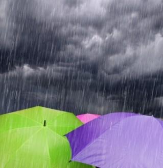 Βροχή και σήμερα...
