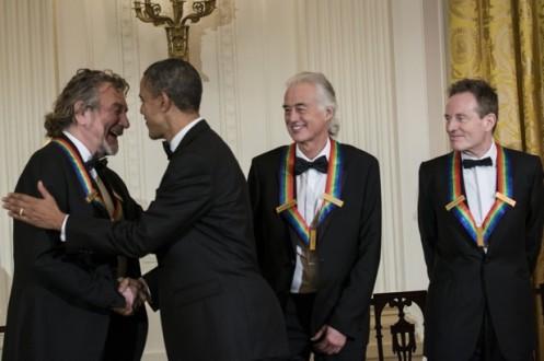 Ο Ομπάμα βράβευσε τους Led Zeppelin