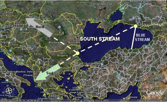 Προσέγγιση ΕΕ-Ρωσίας για την κατασκευή του South Stream