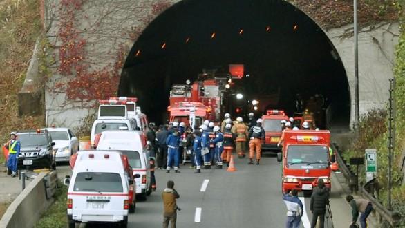 Ιαπωνία: Κατέρρευσε σήραγγα αυτοκινητόδρομου