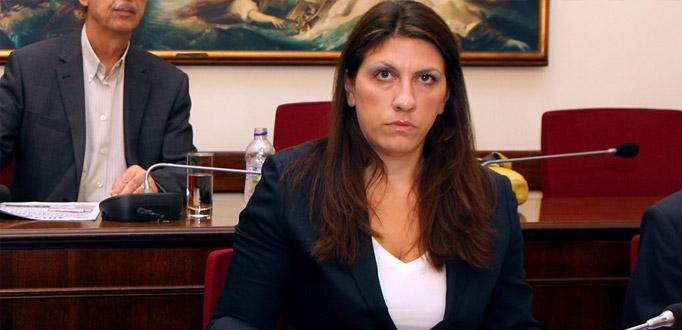 Απειλές και δημοσιογραφικές επιθέσεις καταγέλλει η Κωνσταντοπούλου