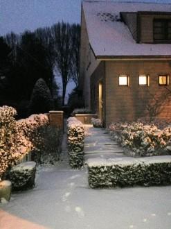 Το χιονισμένο σπίτι του Μιχάλη Σηφάκη