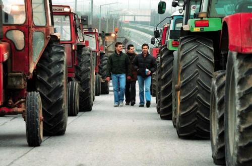 Stand by οι αγρότες στην Εγνατία Οδό