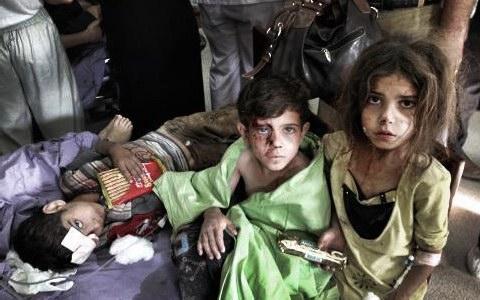 Συρία: Έντεκα παιδιά σκοτώθηκαν από βόμβες