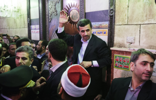 Κάιρο: Επίθεση με ...παπούτσι στον Ιρανό πρόεδρο