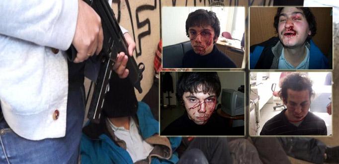 Σοκαριστικές φωτογραφίες των συλληφθέντων της Κοζάνης