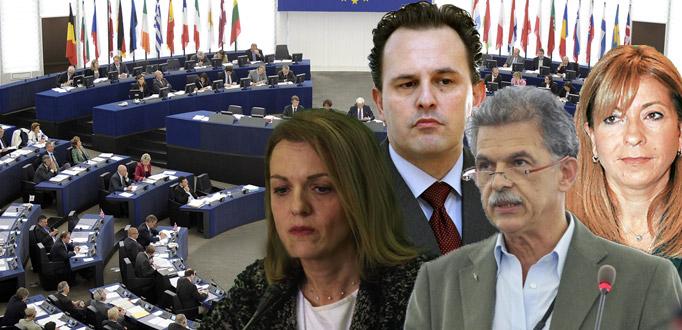 Καταγγέλλουν τον αποκλεισμό τους από την ΚΕ του ΠΑΣΟΚ τέσσερις ευρωβουλευτές