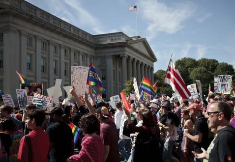 Στο Ανώτατο Δικαστήριο της Ουάσινγκτον η απόφαση για τον γάμο των ομοφυλόφιλων
