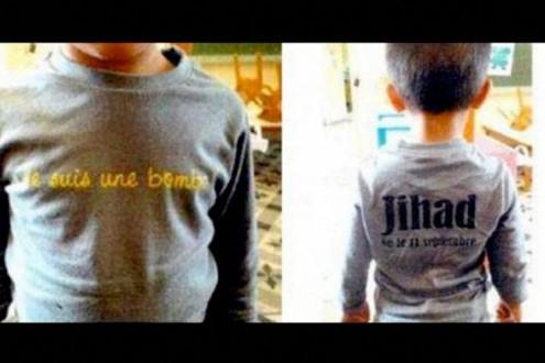 Δικάστηκε γιατί ο γιος της φορούσε μπλουζάκι «Τζιχάντ»
