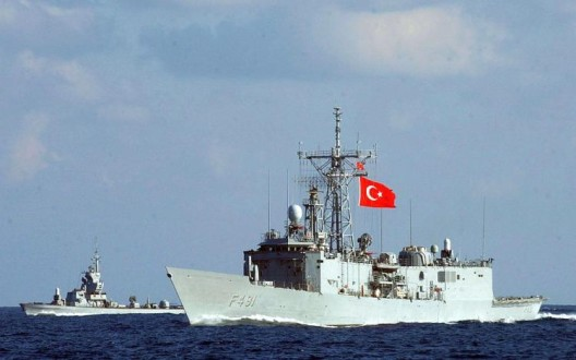 Τουρκική κορβέτα εισήλθε στα ελληνικά χωρικά ύδατα