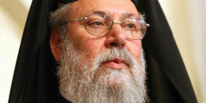 Υπέρ της χρεοκοπίας ο Αρχιεπίσκοπος Χρυσόστομος