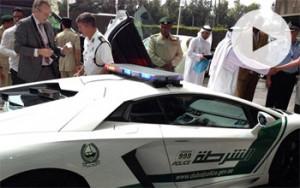 Περιπολικό Λαμποργκίνι στο Ντουμπάι!