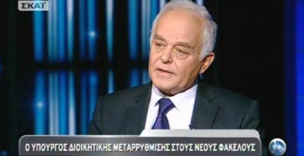 Μανιτάκης: Από το 2011 είχαν συμφωνήσει για απολύσεις