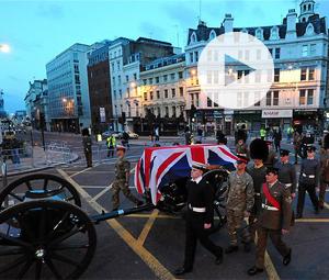 Υπό δρακόντεια μέτρα ασφαλείας η κηδεία της Θάτσερ