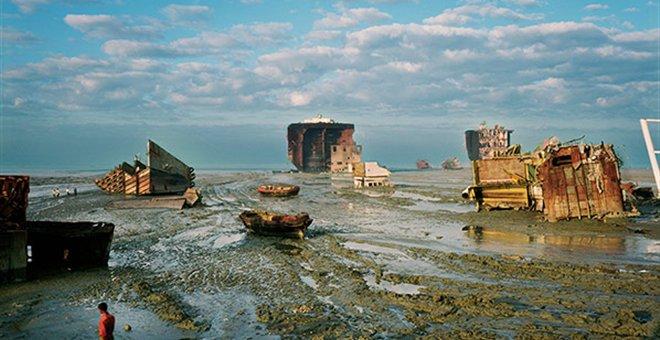 Νεκροταφείο πλοίων στο Μπαγκλαντές