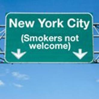 Απαγορευμένη ζώνη για τους καπνιστές η Νέα Υόρκη