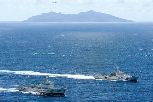 Συνεχίζονται τα ...επεισόδια στα νησιά Σενγκάκου