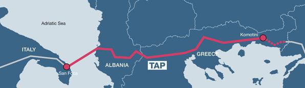 Επικυρώθηκε η συμφωνία για τον αγωγό φυσικού αερίου TAP