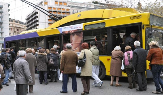 Αλλάζει  διαδρομή το τρόλεϊ 21 στη Νίκαια