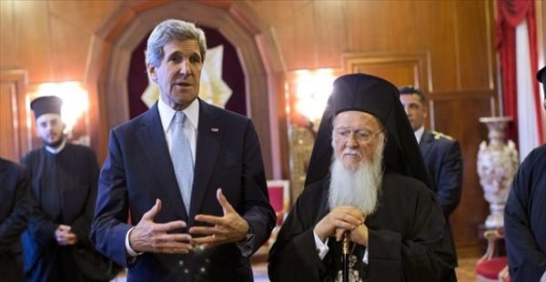 Στο Οικουμενικό Πατριαρχείο ο Αμερικανός υπουργός Εξωτερικών