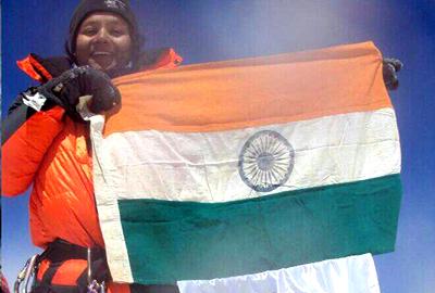 Από την Ινδία η πρώτη ανάπηρη που κατέκτησε το Έβερεστ