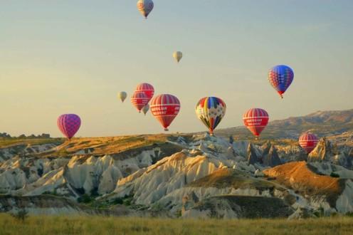 Πτώση αερόστατου στην Καππαδοκία με ένα νεκρό τουρίστα