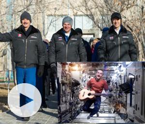Επέστρεψαν ασφαλείς στη Γη οι τρεις αστροναύτες του ISS