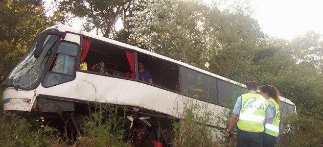 Λεωφορείο ΚΤΕΛ εναντίον Ι.Χ.