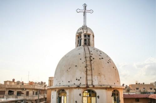 «Κινδυνεύει η φυσική ύπαρξη του Χριστιανισμού στη Συρία»