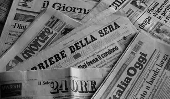 Αιμορραγεί ο Τύπος και στην Ιταλία