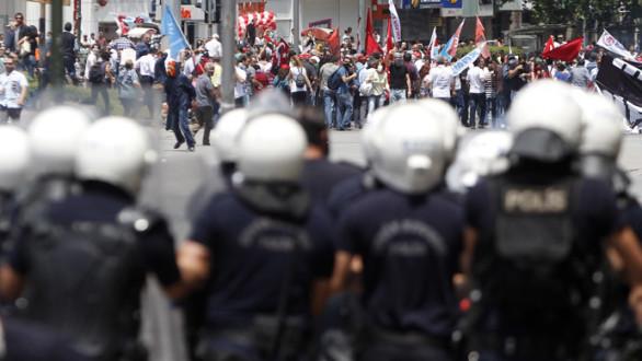 Διαδηλώσεις, επεισόδια και συλλήψεις στην Άγκυρα