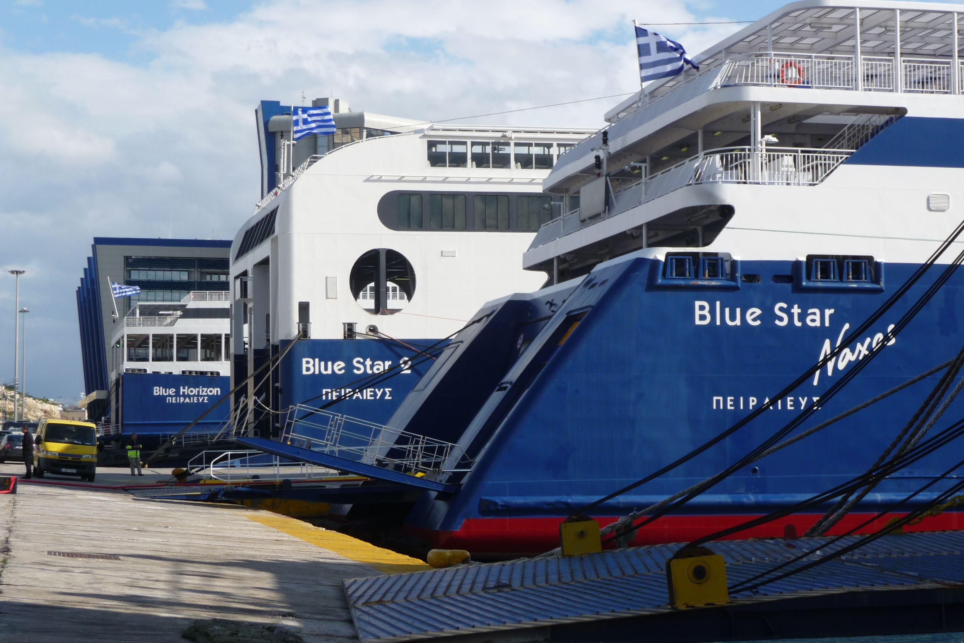 Ταλαιπωρία για τους επιβάτες του «Blue Star Horizon»