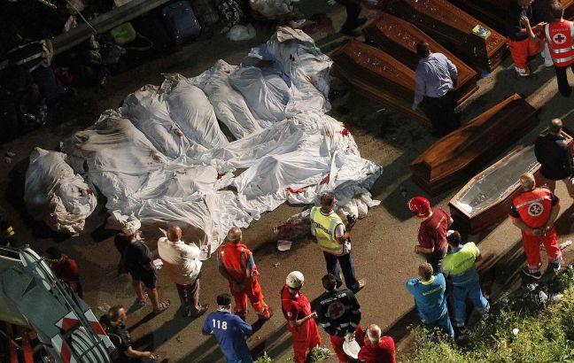 Τριάντα οκτώ νεκροί από δυστύχημα στην Ιταλία