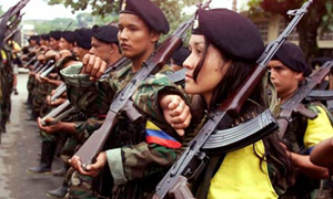 Προς το τέλος του ο εμφύλιος στην Κολομβία