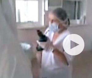 Χειρουργούν με τρυπάνι λόγω έλλειψης ιατρικών υλικών