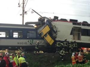 Και νέο ατύχημα! Σύγκρουση τρένων στην Ελβετία (Βίντεο)