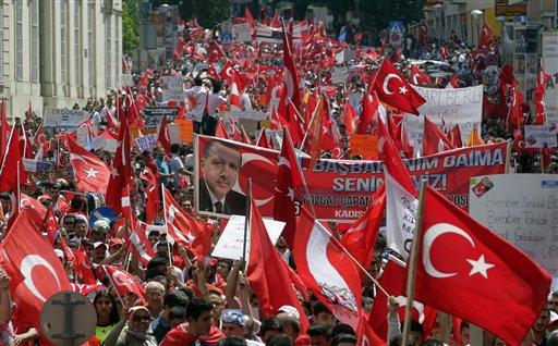 Austria Turkey Demonstration