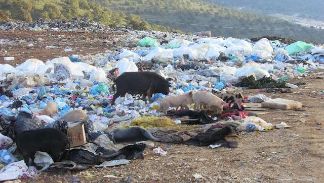 Η Αλβανία «πνίγεται» στα σκουπίδια