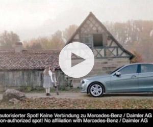 Mercedes σκοτώνει τον «μικρό Χίτλερ» (Βίντεο)