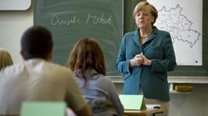 Δασκάλα έγινε η Μέρκελ!