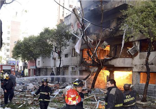Πολύνεκρη έκρηξη  στην Αργεντινή