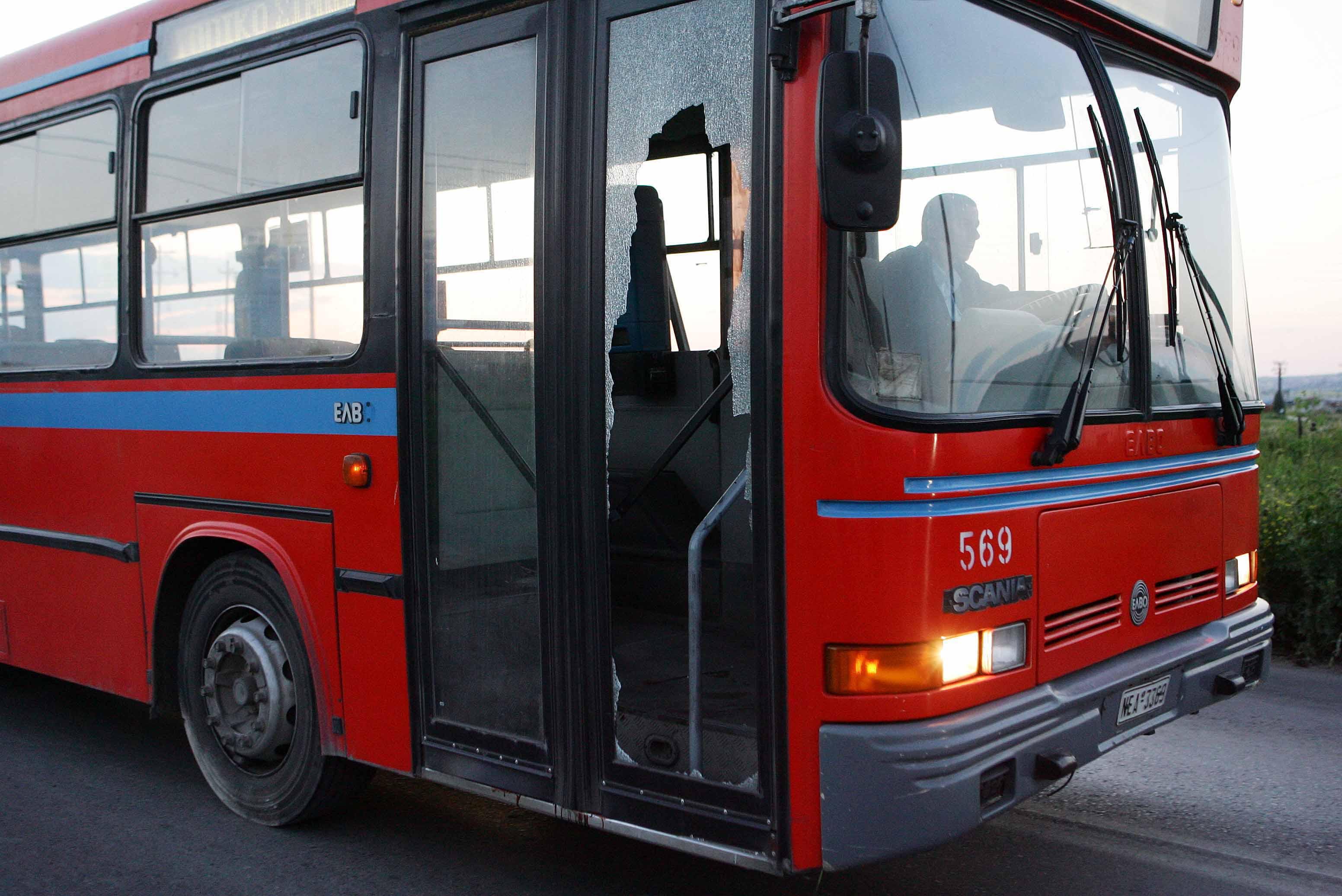 Απόπειρα εμπρησμού σε λεωφορείο του ΟΑΣΘ