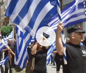 Ναζιστικός χαιρετισμός σε εκδήλωση ιστορικής μνήμης(video)