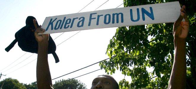 Αϊτή: Θύματα χολέρας ζητούν αποζημίωση από τον ΟΗΕ
