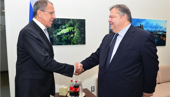 Συνεργασία σε νέους τομείς αναζητούν Ελλάδα και Ρωσία