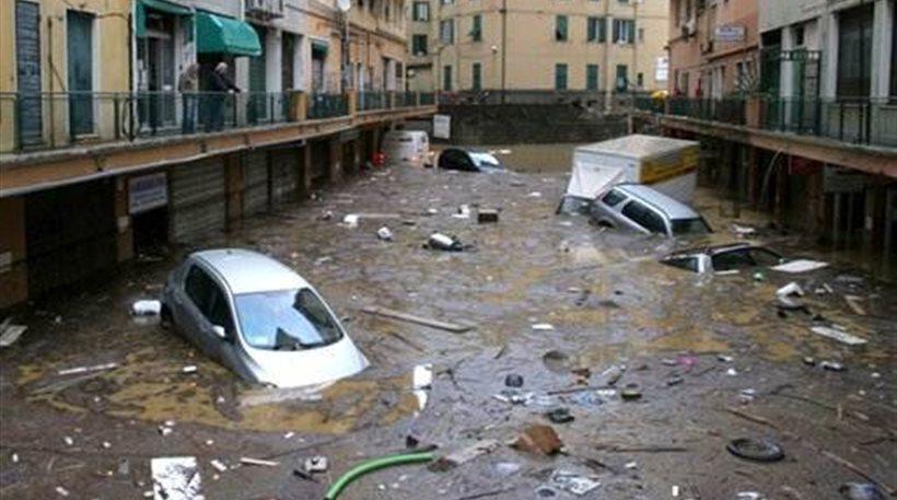 Μια νεκρή από την κακοκαιρία στην Κάτω Ιταλία