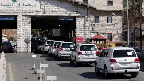 Εκατονταμελής ομάδα θα καταστρέψει τα χημικά όπλα στη Συρία